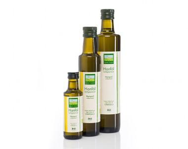 Hochwertiges Bio-Hanföl